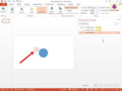 Using The Animation Pane | Powerpoint | Computer Training | Periw...