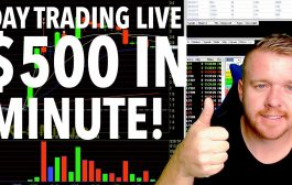 DAY TRADING LIVE! $500 in 1 Minute!...
