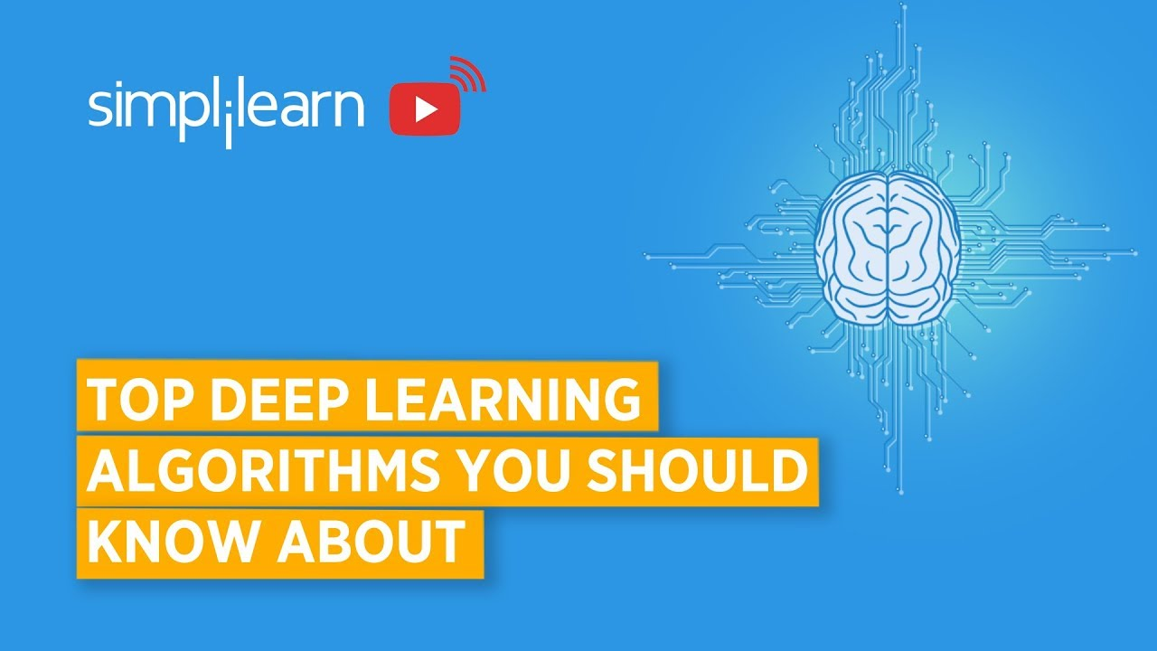 Top Deep Learning Algorithms You Should Know About   Deep Learnin...