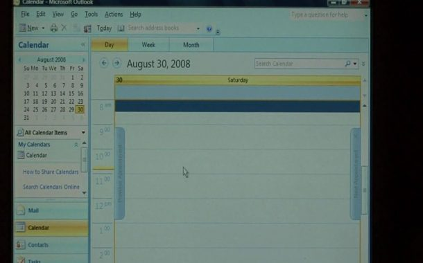 Computer Training : How to Turn Off Outlook Calendar Reminders...