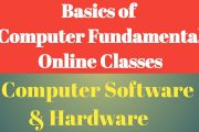 Computer Fundamentals | Computer Hardware and Software | Computer...