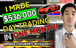 I MADE $536,000 DAY TRADING THE STOCK MARKET IN ONE MONTH! - LIVE...