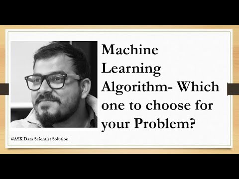 Machine Learning Algorithm- Which one to choose for your Problem?...