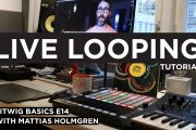 LIVE LOOPING Software Looper PC/MAC - Bitwig Basics E14...
