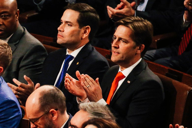 Ben Sasse, Trump's Most Crucial Enabler, Pretends He Wouldn't Do ...