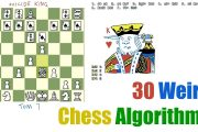 30 Weird Chess Algorithms: Elo World...