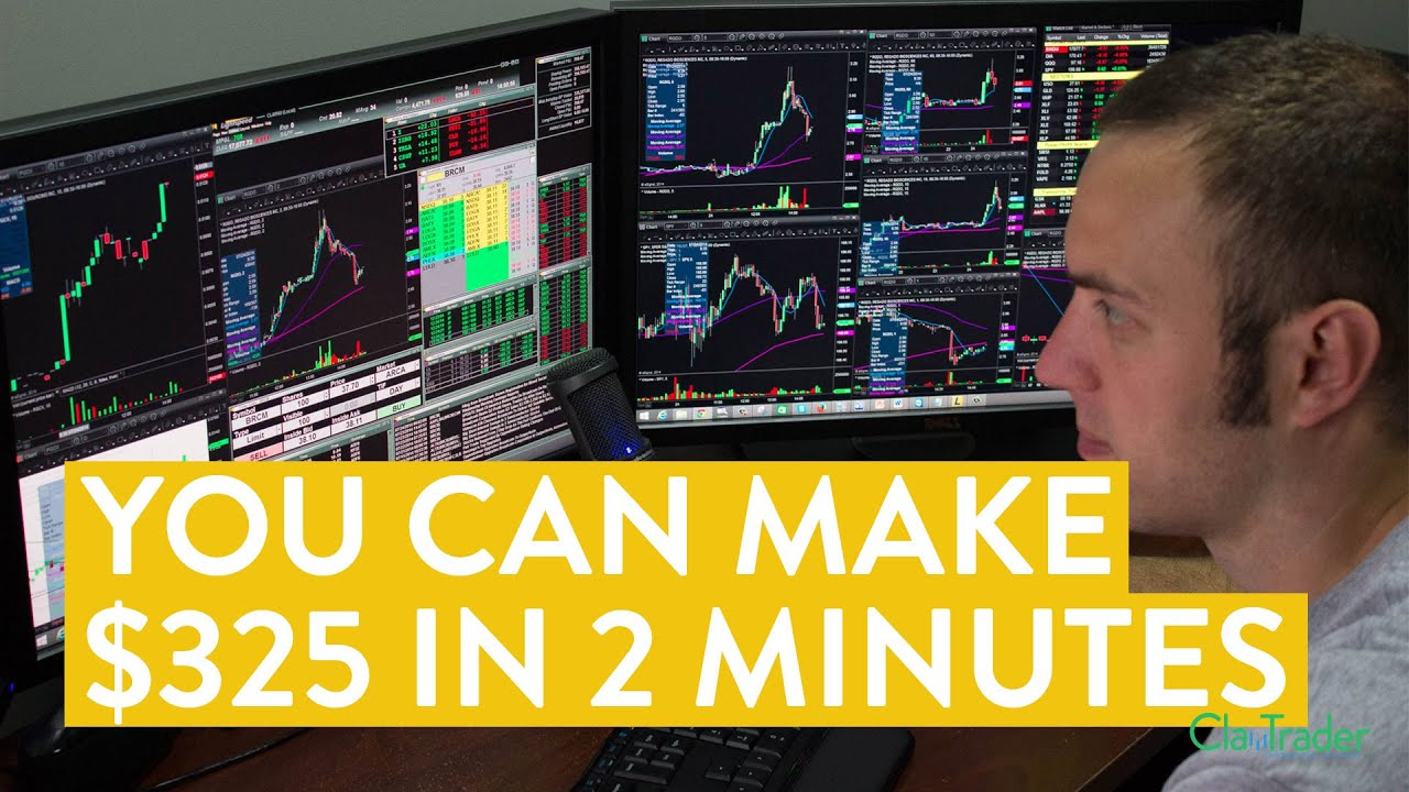 [LIVE] Day Trading | How You Can Make $325 in 2 Minutes (hint: tr...