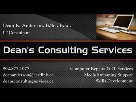 Dean's Consulting Services - Computer Repairs & IT Services f...