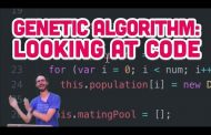 9.4: Genetic Algorithm: Looking at Code - The Nature of Code...