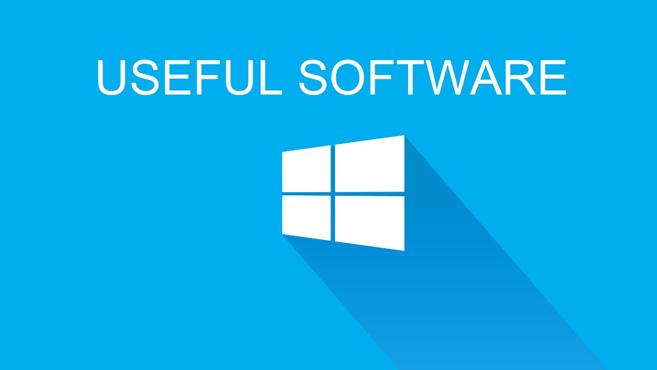 10 Useful Software for Windows Computer...