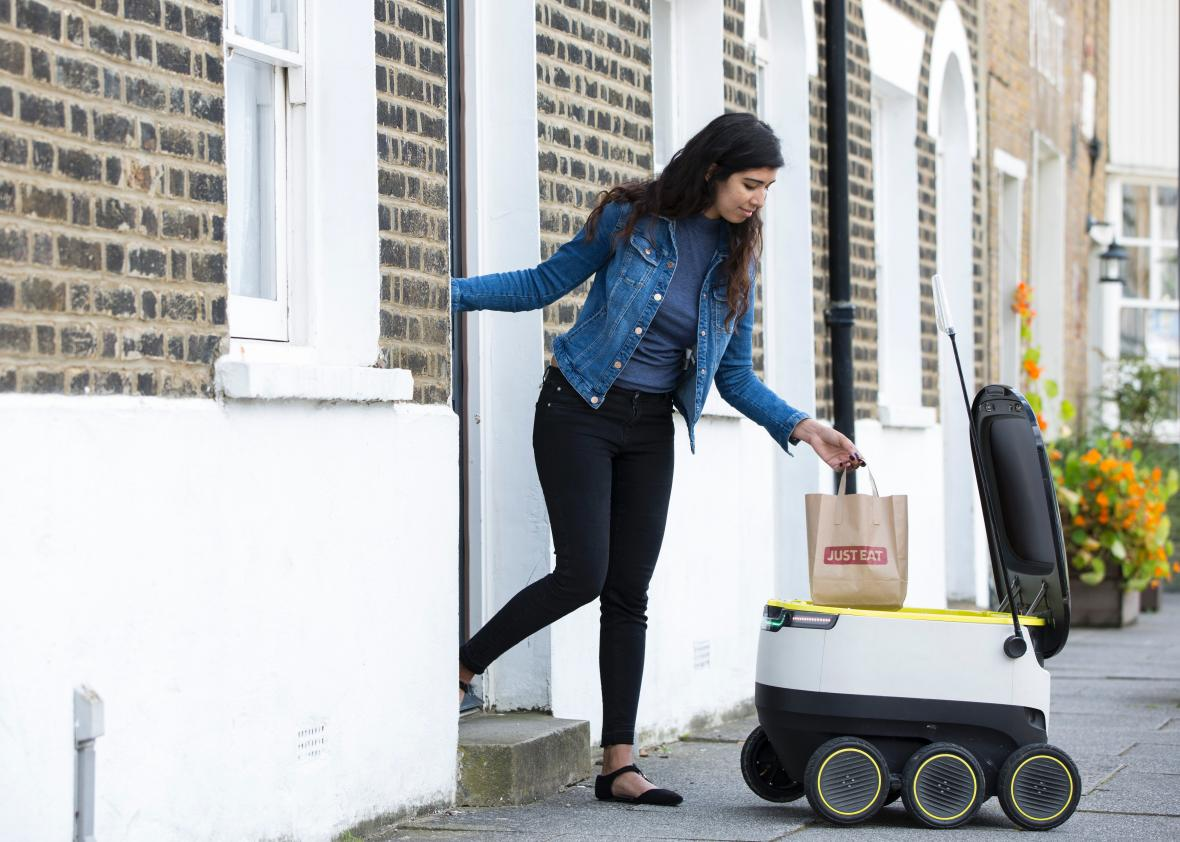 Could San Francisco Ban Those Adorable Food-Delivery Robots?...