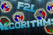 F2L Algorithms [EASY CASES]...
