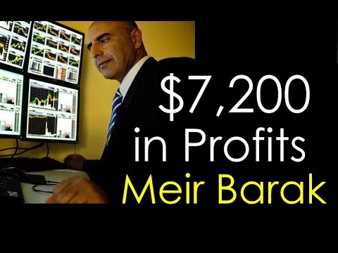 Live Day Trading - $7,200 in profits...
