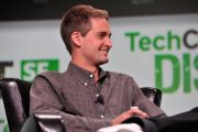 Snap's Evan Spiegel is clinging to billionaire status by his fing...