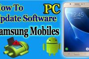 How To Software Update Samsung Mobile using PC...