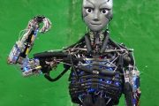 This humanoid robot works out (and sweats) like we do (or should)...