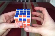 Rubik's cube 4x4 edge parity without complicated algorithms...