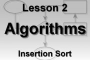Algorithms Lesson 2: Insertion Sort...