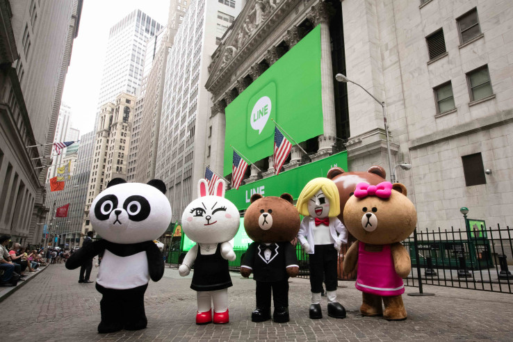 Chat app Line announces plan for cryptocurrency services, loans a...
