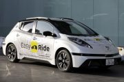 Nissan and DeNA will begin testing a self-driving taxi service in...