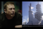Here's a video of Elon Musk watching the Falcon Heavy take off...