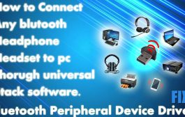Connect Bluetooth Device To PC/lptop Thorugh Stack Software | Blu...