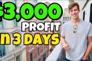 $3,000 Profit In 3 Days Trading | 10% Consistent Growth...
