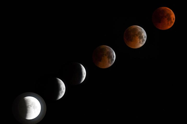 Everything You Need to Know About Sunday's Super Blood Wolf Moon...