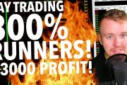 Day Trading LIVE! $3,000 PROFIT ON INSANE STOCK!...