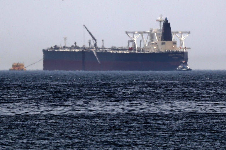 Two Oil Tankers Explode in Suspected Attack in Gulf of Oman...