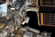 Watch live as NASA astronauts spacewalk to install a new automate...