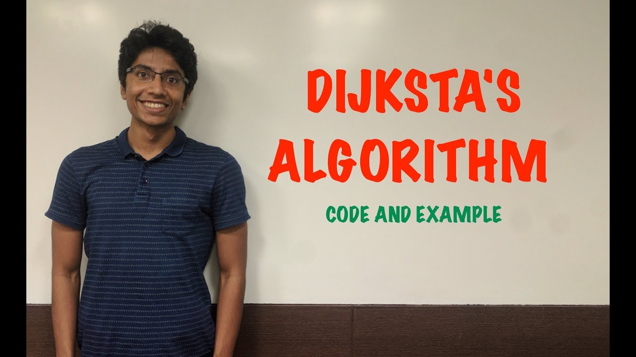 How to use Dijkstra's Algorithm with Code...