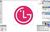 Computer Training Class - 32 | How to Make LG Logo With Illustrat...