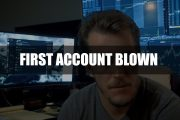 Blowing Up My First Day Trading Account | 1 Month Recap...