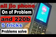 All Jio phone Automatically on of problem solve || and without co...