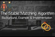 The Stable Matching Algorithm - Examples and Implementation...