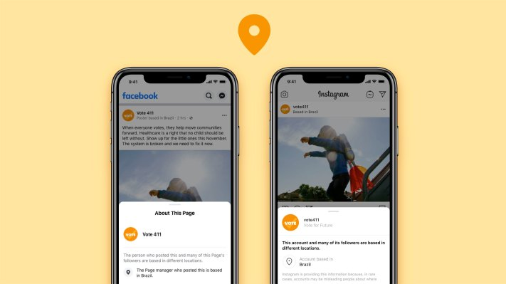 Facebook and Instagram will now show location of posts from high-...