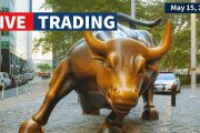 Watch Day Trading Live - May 15, NYSE & NASDAQ Stocks...