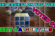 Rubiks Cube Easy Method No Algorithms in first 3 Layers! How to S...