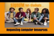 signUM Students Claim Additional Computer Services...