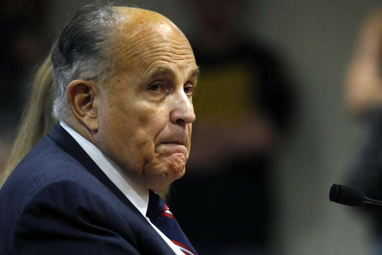Giuliani Won't Represent Trump at Impeachment Trial After All...