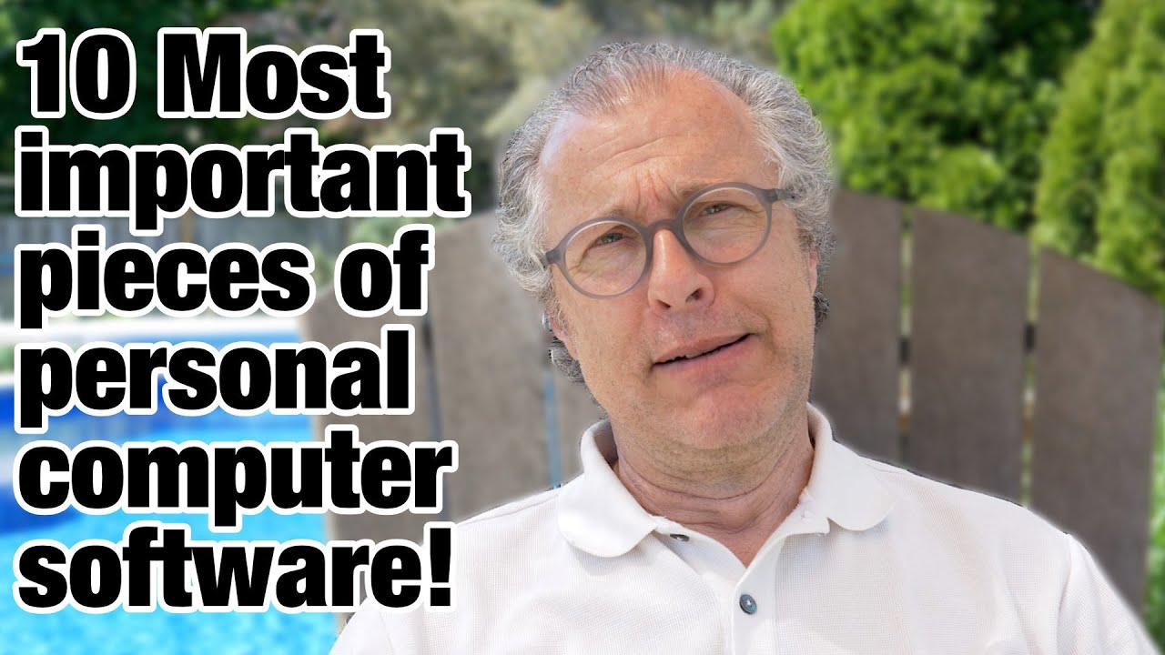 10 Most important pieces of personal computer software!...