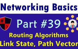 [HINDI] Networking Basics | Part #39 | Routing Algorithms | Link ...