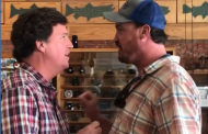"""Watch Man Confront Tucker Carlson in Montana: """"You Are the Worst ..."""