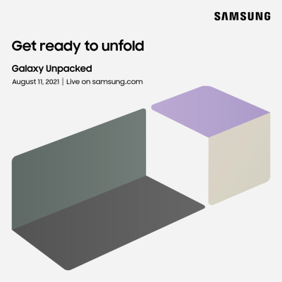 Samsung will announce new foldables on August 11...